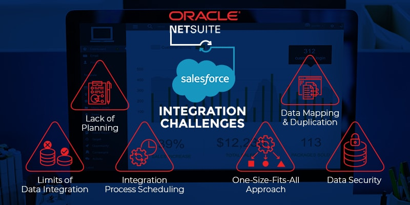 netsuite salesforce integration challenges