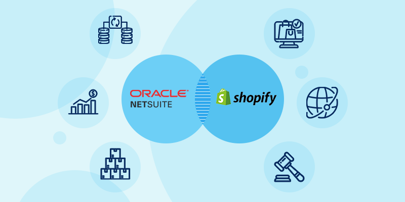 NetSuite ERP and Shopify Webstore integration methods and benefits