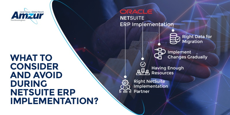 Top 4 common mistakes to avoid during NetSuite ERP software implementation