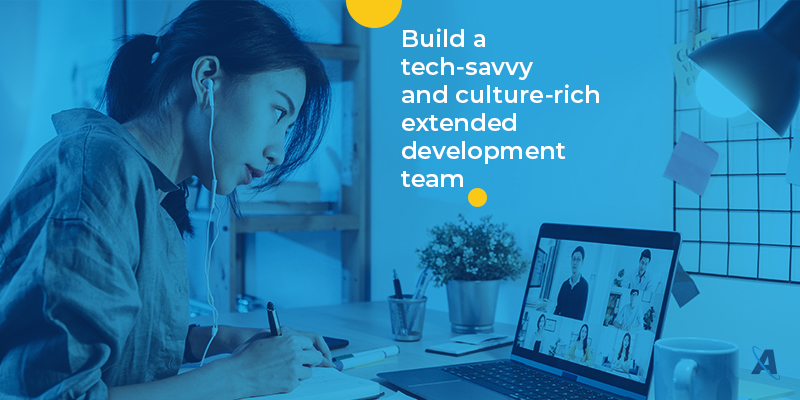 How to build extended tech development teams?