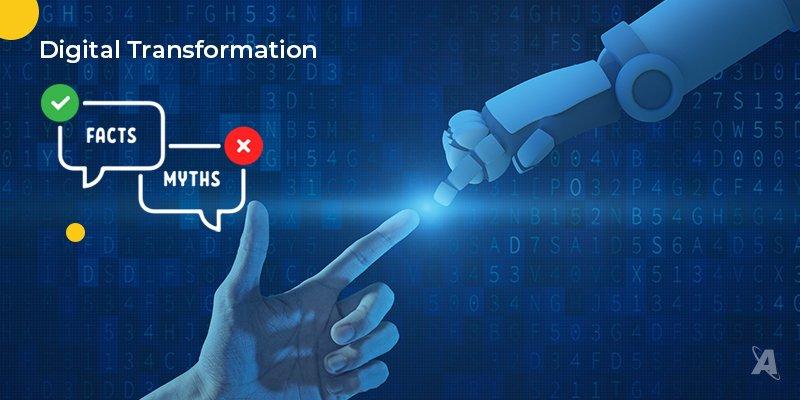 Digital strategy transformation top myths